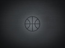 Logo de basket-ball Images stock