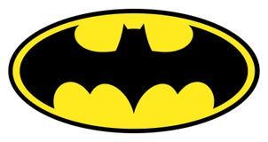 Logo de Batman Photos stock