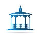 Logo de belvédère de mariage Image libre de droits