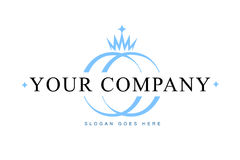 Logo de bijou Images stock