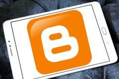 Logo de Blogger Photographie stock libre de droits