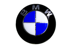 Logo de BMW Photo libre de droits