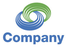 logo de bobine Photo libre de droits
