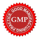 Logo de bonne pratique en matière de fabrication illustration libre de droits