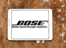 Logo de Bose Corporation Photographie stock