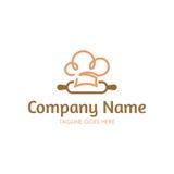 Logo de boulangerie Image stock