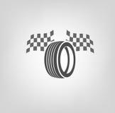 Logo de boutique de pneu Images libres de droits