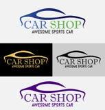 Logo de boutique de voitures illustration libre de droits