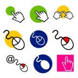 Logo de boutique informatique et de service de Web illustration libre de droits