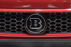 Logo de Brabus - Salon de l'Automobile de Genève 2012 Photos stock