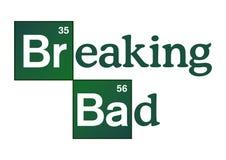 Logo de Breaking Bad illustration libre de droits