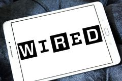 Logo de câble de magazine Image stock