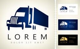 Logo de camion Photographie stock