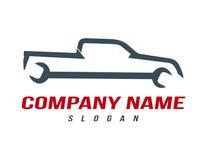 Logo de camion de mécanicien Photos libres de droits