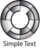 Logo de cercle Images stock