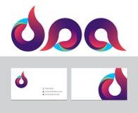 Logo de cercle Image libre de droits