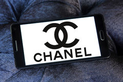 Logo de Chanel photographie stock