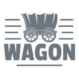 Logo de chariot, style de vintage Image stock