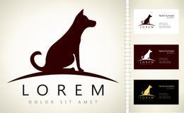 Logo de chien Photos stock