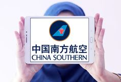 Logo de China Southern Airlines Photo stock