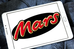 Logo de chocolat de Mars Photo libre de droits