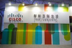 Logo de Cisco, intelligent connecté Images libres de droits