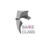 Logo de classe de barre Photos libres de droits