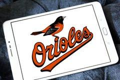 Logo de club de base-ball de Baltimore Orioles Images stock