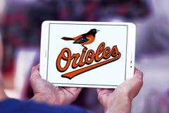 Logo de club de base-ball de Baltimore Orioles Image stock