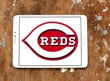 Logo de club de base-ball de Cincinnati Reds Photographie stock