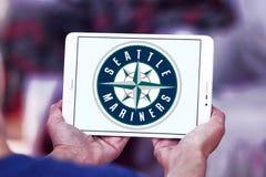 Logo de club de base-ball de Seattle Mariners Photos stock