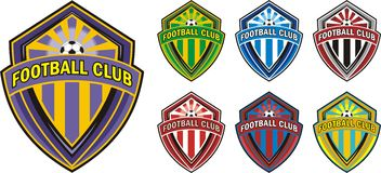 Logo de club du football Photos stock