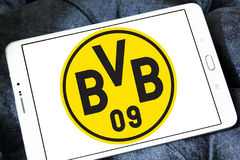 Logo de club du football du BV 09 Borussia Dortmund Photo stock