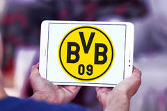 Logo de club du football du BV 09 Borussia Dortmund Photographie stock