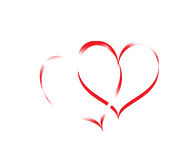 Logo de coeur illustration de vecteur