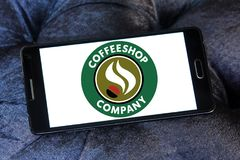 Logo de Coffeeshop Company Image stock