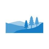 Logo de collines Photographie stock