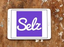 Logo de commerce électronique de Selz Images libres de droits