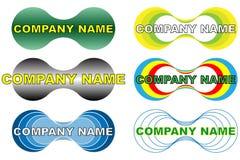 Logo de compagnie Photo libre de droits