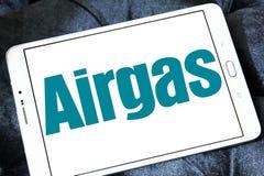 Logo de compagnie de gaz d'Airgas Images libres de droits