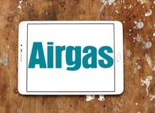 Logo de compagnie de gaz d'Airgas Images stock