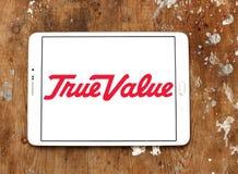 Logo de compagnie de valeur vrai images stock