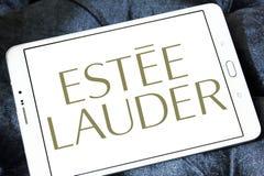 Logo de compagnies d'Estée Lauder photographie stock libre de droits
