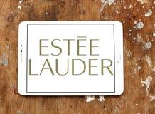 Logo de compagnies d'Estée Lauder photo libre de droits