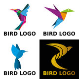 Logo de concept d'oiseau Image libre de droits