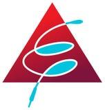Logo de connectivité Image stock