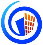 Logo de constructeurs Image stock