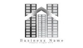 Logo de construction Photographie stock