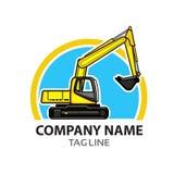 Logo de construction Image libre de droits
