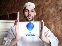 Logo de Corel Corporation Photo libre de droits